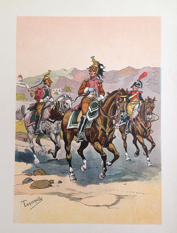 Dragons a Cheval et Gendarmerie 1er Empire