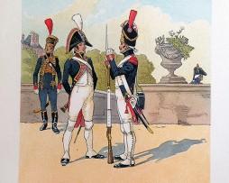 Garde des Consuls à PIed 1er Empire