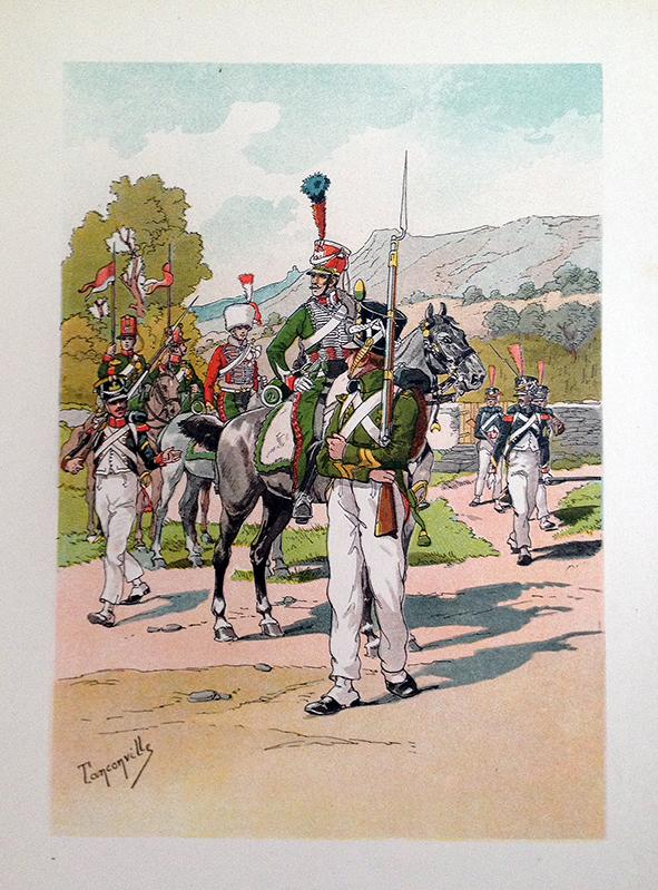 Jeune Garde Honneur et Eclaireur 1er Empire