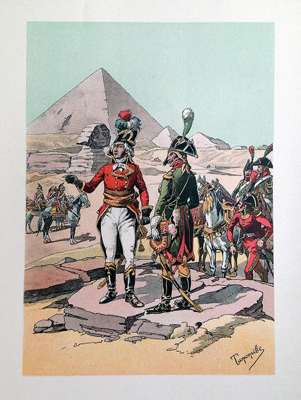 Général Kleber en Egypte 1er Empire