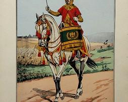 Timbalier des Guides de Seconde Garde Impériale