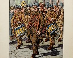 Clique de la Légion Etrangère 1916