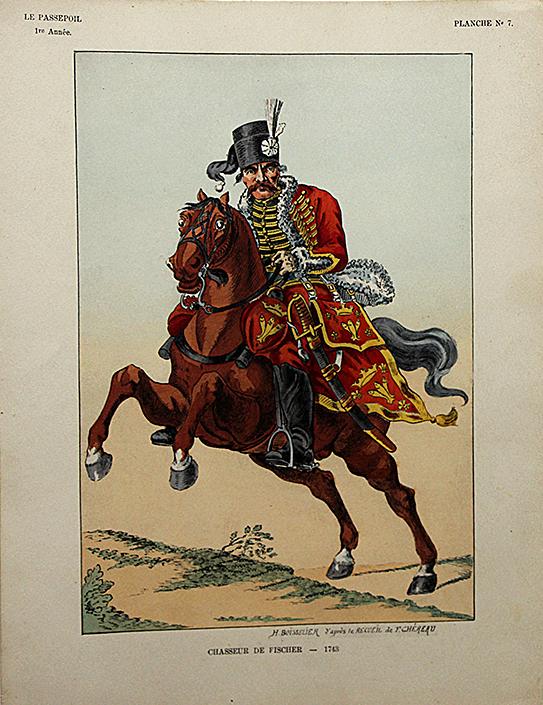 Chasseur de Fisher 1743