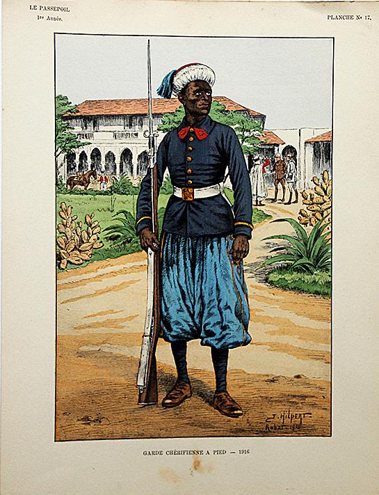 Garde Chérifienne a Pied 1916