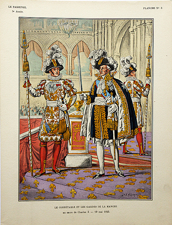 Connétable et Garde de la Manche 1825