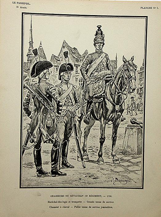 Chasseurs du Gévaudan 1786