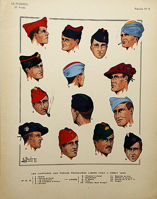 Coiffures forces française libres