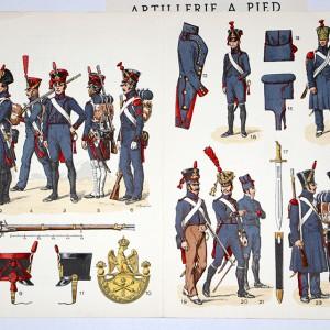 Artillerie a Pied 1804/1815