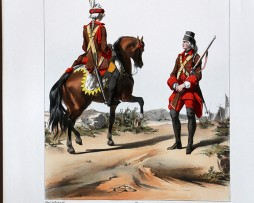 Troupes Légères - Régiment de la Morlière - Uniformes Louis XV - 1745- Planche 168 - Alfred de Marbot
