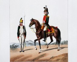 Cavalerie Dragons - Artois/Colonel Général - Uniformes Louis XVI - 1786- Planche 288 - Alfred de Marbot