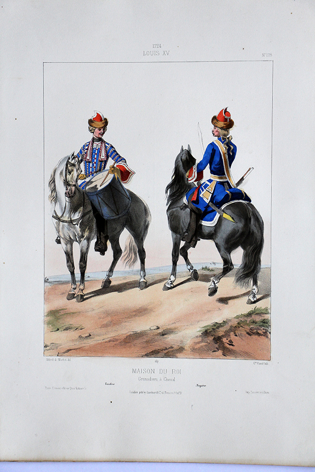 Maison du Roi Grenadiers à Cheval