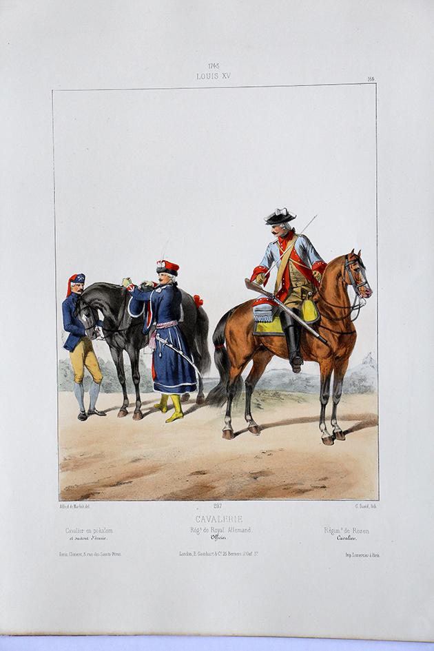 Cavalerie Louis XV