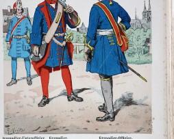 Kur-Brandenburg 1698 - Uniformenkunde - Richard Knötel - V1 - Planche 1