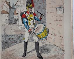 Bayern 1809 - Uniformenkunde - Richard Knötel - V1 - Planche 4