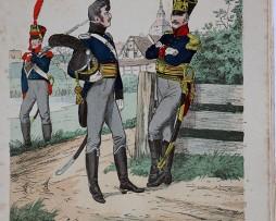 Mecklenburg Schwerin und Strelitz 1812 - Uniformenkunde - Richard Knötel - V1 - Planche 48