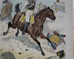 Sachsen 1812 - Uniformenkunde - Richard Knötel - V1 - Planche 16