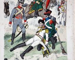 Westfalen 1812 - Uniformenkunde - Richard Knötel - V1 - Planche 43