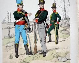Sachsen 1814 - Uniformenkunde - Richard Knötel - V1 - Planche 5
