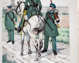 Hanseaten 1813 - Uniformenkunde - Richard Knötel - V1 - Planche 10