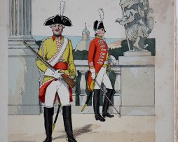 Baden 1790 - Uniformenkunde - Richard Knötel - V1 - Planche 11