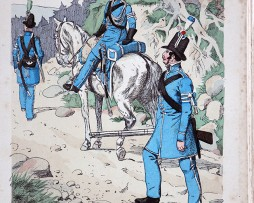Bayern 1814 - Uniformenkunde - Richard Knötel - V1 - Planche 50
