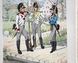 Bayern 1790 - Uniformenkunde - Richard Knötel - V1 - Planche 31