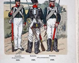 Russland 1808 - Uniformenkunde - Richard Knötel - XV - Planche 19