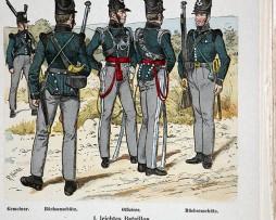 Hannover 1808 - Uniformenkunde - Richard Knötel - XIV - Planche 40