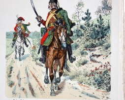 Kur-Sachsen 1761-1763- Uniformenkunde - Richard Knötel - XII- Planche 56
