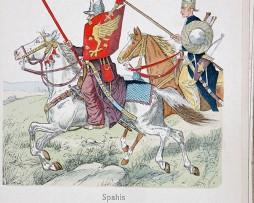 Spahis Türkei XVI/XVII - Uniformenkunde - Richard Knötel - XII- Planche 34