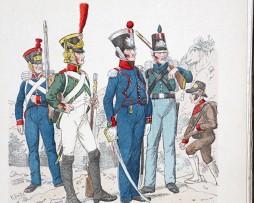 Spanien 1808- Uniformenkunde - Richard Knötel - XII- Planche 14