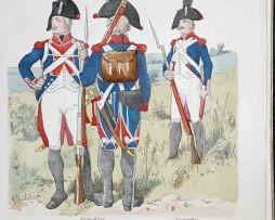 Batavische Republik 1801 - Uniformenkunde - Richard Knötel - X- Planche 38