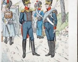 Bayern 1812 - Uniformenkunde - Richard Knötel - II- Planche 4