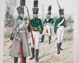 Russland 1805/1806 - Uniformenkunde - Richard Knötel - IX- Planche 14