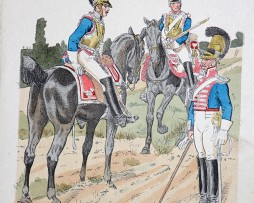 Bayern 1814 - Uniformenkunde - Richard Knötel - IX- Planche 26