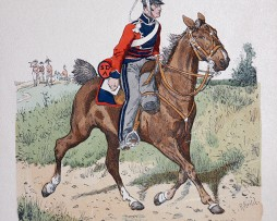 England 1815 - Uniformenkunde - Richard Knötel - IX- Planche 36