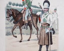 Spanien 1807/1808 - Uniformenkunde - Richard Knötel - VIII- Planche 18