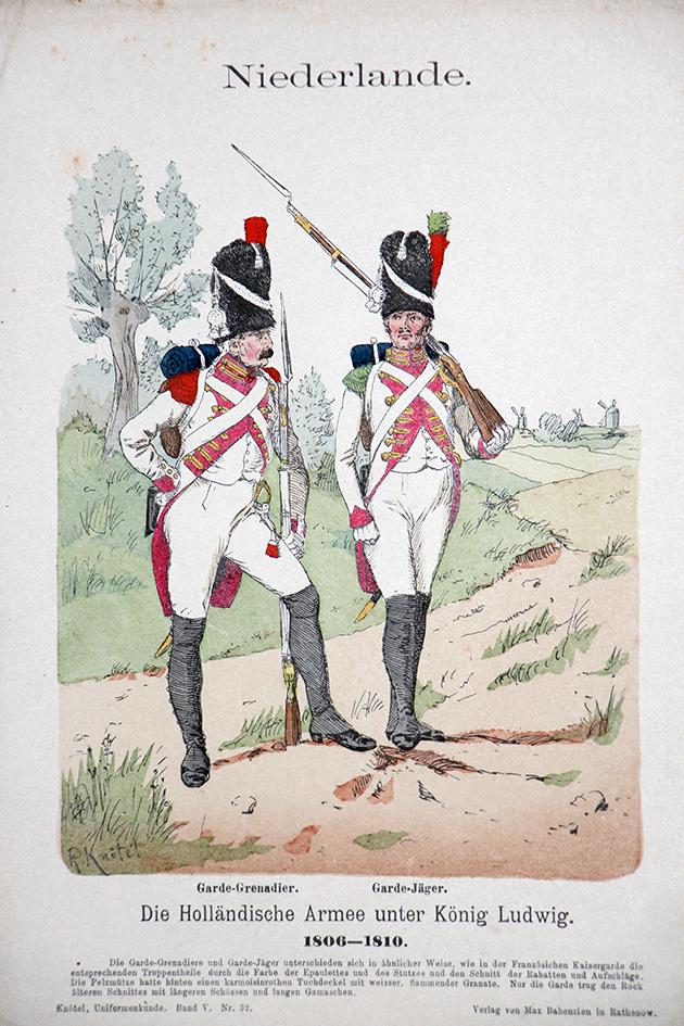 Niederlande 1806/1810 - Uniformenkunde - Richard Knötel - V- Planche 32