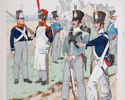 Niederlande - Uniformenkunde - Richard Knötel - IV- Planche 12