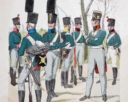 Russland 1806/1807 - Uniformenkunde - Richard Knötel - IV- Planche 32