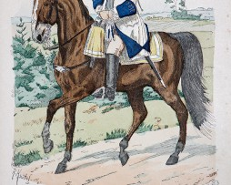 Kurpfalz 1748 - Uniformenkunde - Richard Knötel - III- Planche 57