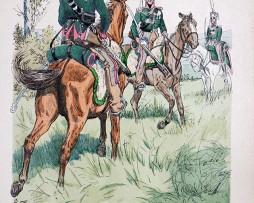 Anhalt 1813 - Uniformenkunde - Richard Knötel - IV- Planche 3