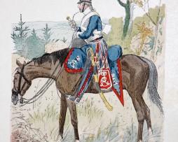 Weimar 1806/1808 - Uniformenkunde - Richard Knötel - IV- Planche 54