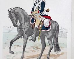 Frankreich 1750 - Uniformenkunde - Richard Knötel - IV- Planche 43