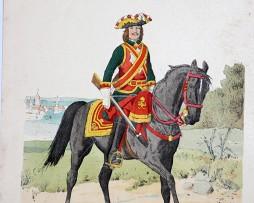 Russland 1724 - Uniformenkunde - Richard Knötel - VIII- Planche 5