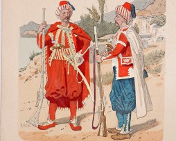 Republik Ragusa 1780/1806 - Uniformenkunde - Richard Knötel - IX - Planche 46