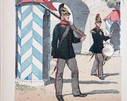 Schwarzburg Rudolstadt 1848 - Uniformenkunde - Richard Knötel - IX - Planche 37
