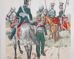 Bayern 1813/1822 - Uniformenkunde - Richard Knötel - IX - Planche 31