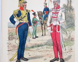 Polen 1807 - Uniformenkunde - Richard Knötel - XIV - Planche 4