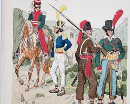 Spanien 1823 - Uniformenkunde - Richard Knötel - XIV - Planche 5
